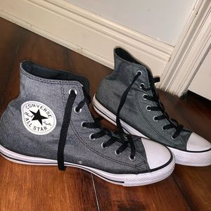 CONVERSE dark gray high tops